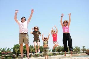 La famille SECHET a Hurghada