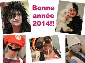 famille Séchet - bonne année 2014